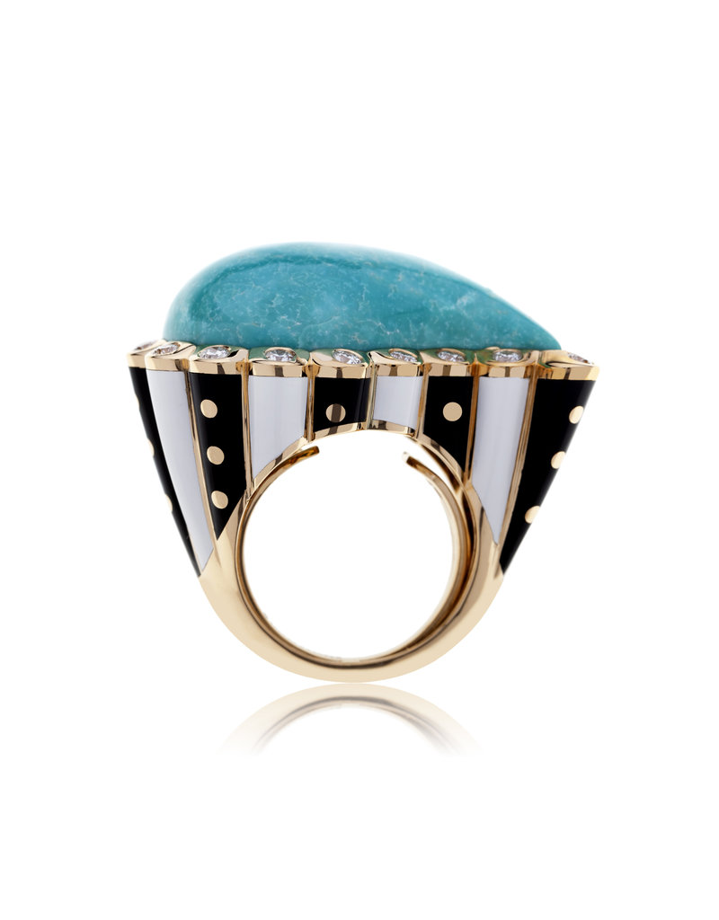 Alezan By SK Calliope Mata Hari Ring