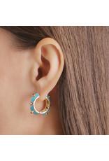 Calliope Harlequin Ear Hoops