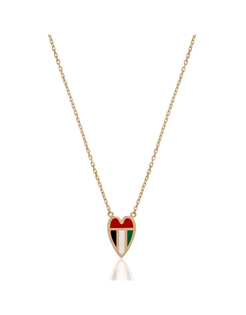 Calliope Emarati At Heart Necklace Small Version