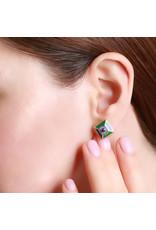 Calliope Harlequin Star  Stud Earrings
