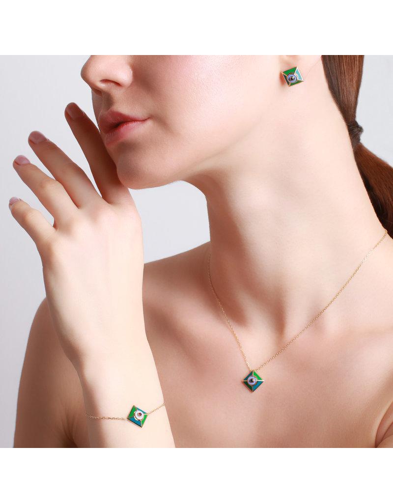 Calliope Harlequin Star Motif Necklace