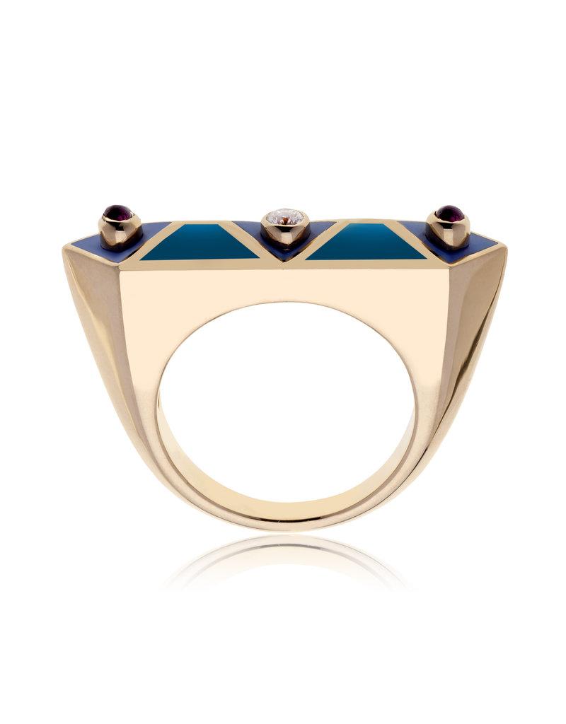 Calliope Harlequin Ring