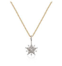 Starflake 2-Star MM Necklace
