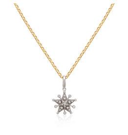 Starflake 2-Star PM Necklace