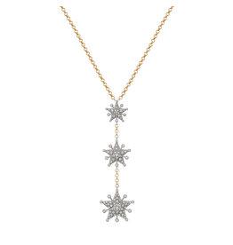 Starflake 3-Star GM Necklace