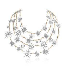 Starflake  4-Layered Hero Necklace