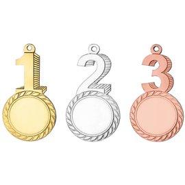 XD16 medaille 1-2-3