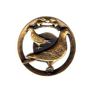 470 Medaille duif 70mm (op=op)