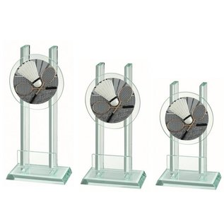 227 Glazen standaard badminton