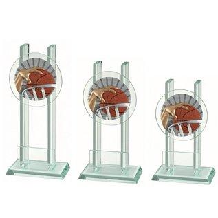 227 Glazen standaard basketbal