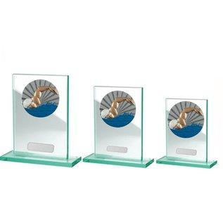228 Glasstandaard zwemmen