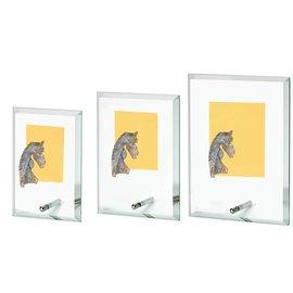 Glasstandaard paard