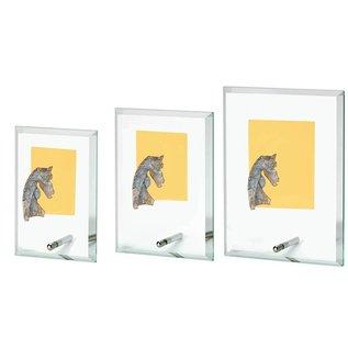 744 Glasstandaard paard