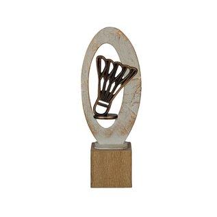 BEH 584 Trofee badminton op hout