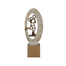 BEH 555 Trofee hardlopen op hout
