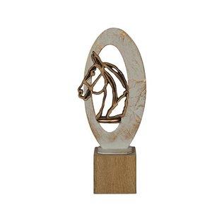 BEH 562 Trofee paard op hout