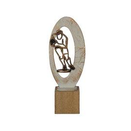 BEH 585 Trofee rugby op hout