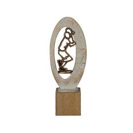 BEH 554 Trofee tennis op hout