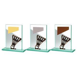 BW513-584 glazen standaard badminton