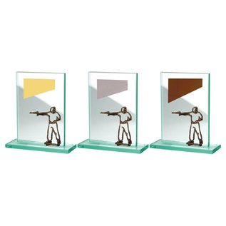 BW513-571 glazen standaard schieten pistool