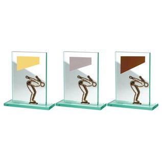 BW513-564 glazen standaard zwemmen