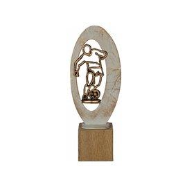 BEH 551 Trofee voetbal op hout