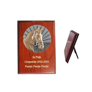 224 Houten standaard  paard