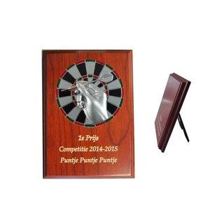 224 Houten standaard  dart