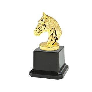 N58 Standaard paardenhoofd goud