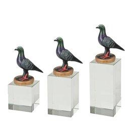 W401 Glasblok duif