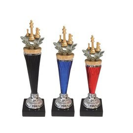 Standaard zilver schaken