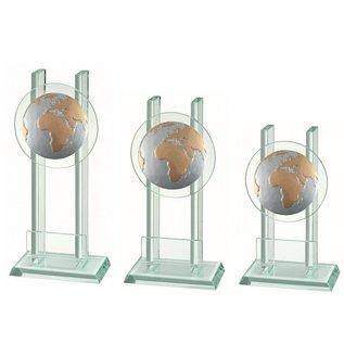 227 Glazen standaard wereld