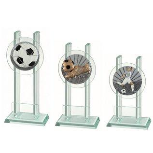 227 Glazen standaard voetballen