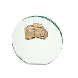 Glasstandaard camera