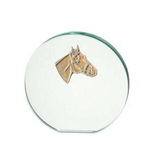 922 glasstandaard paard