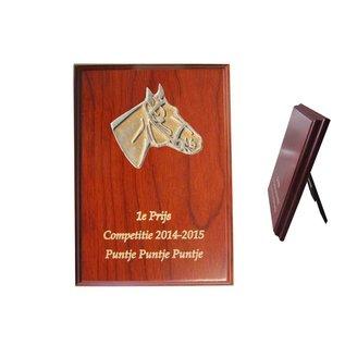 920 Houten standaardje paard