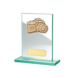 Glazen standaard camera