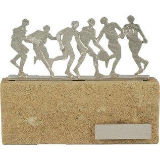BEL601 standaard basketbal op steen