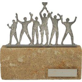 standaard kampioenen op steen