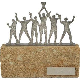 BEL609 standaard kampioenen op steen