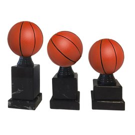 Basketbal op sokkel