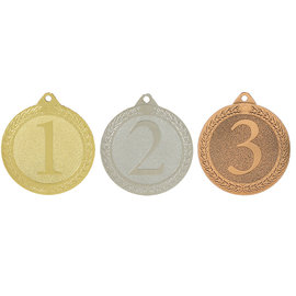 IM00316 Medaille 1-2-3