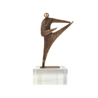 Bel230 karate op glas