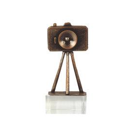 fotocamera op glas