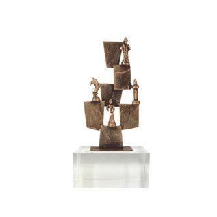 Bel244 schaken op glas