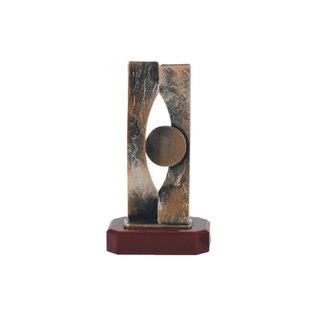 bel379 Metalen trofee