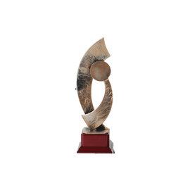 Metalen trofee