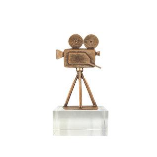 Bel272 filmcamera op glas