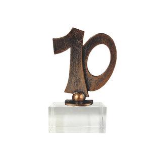 Standaard Jubileum, 10  op glas