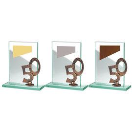 glazen standaard jubileum 10, 25 of 50